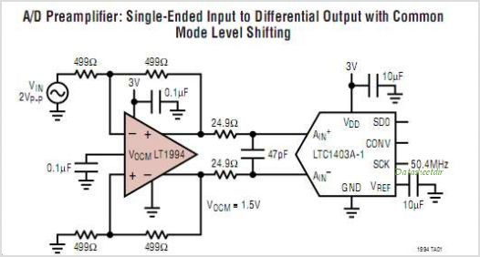 LT1994IMS8-PBF circuits