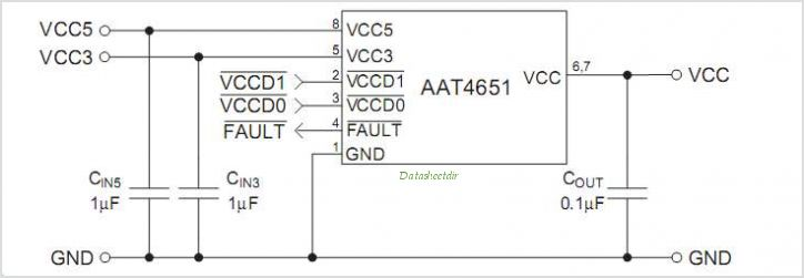 AAT4651IHS-T1 circuits