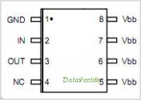 BSP762-T pinout,Pin out
