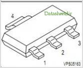 BSP78 pinout,Pin out