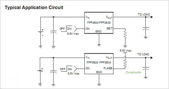 FPF2504 circuits
