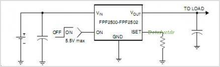 FPF2505 circuits