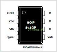 FSQ0265RN pinout,Pin out