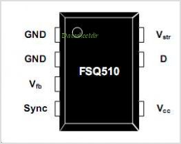 FSQ510 pinout,Pin out