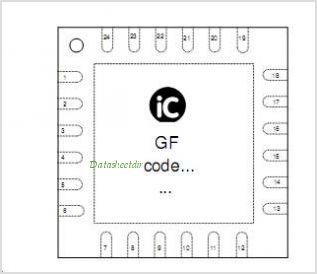 IC-GF pinout,Pin out