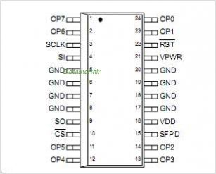 MC33291 pinout,Pin out