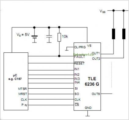 TLE6236G circuits