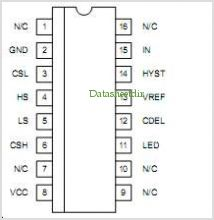 UC17131 pinout,Pin out