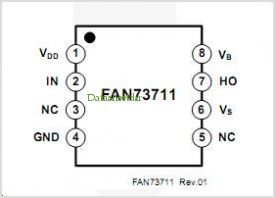 FAN73711 pinout,Pin out