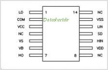 RIC7113A4 pinout,Pin out