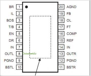 MP1010B pinout,Pin out