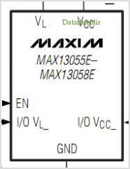 MAX13055E pinout,Pin out