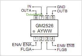 GM2526 pinout,Pin out