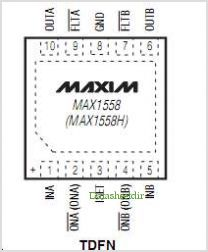MAX1558 pinout,Pin out