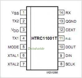 HTRC11001T pinout,Pin out
