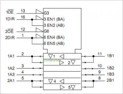 TC7MPS3125FTG circuits