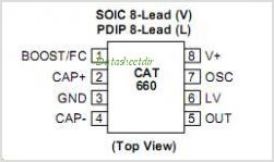 CAT660 pinout,Pin out