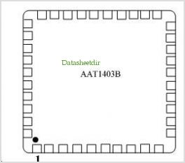 AAT1403B pinout,Pin out