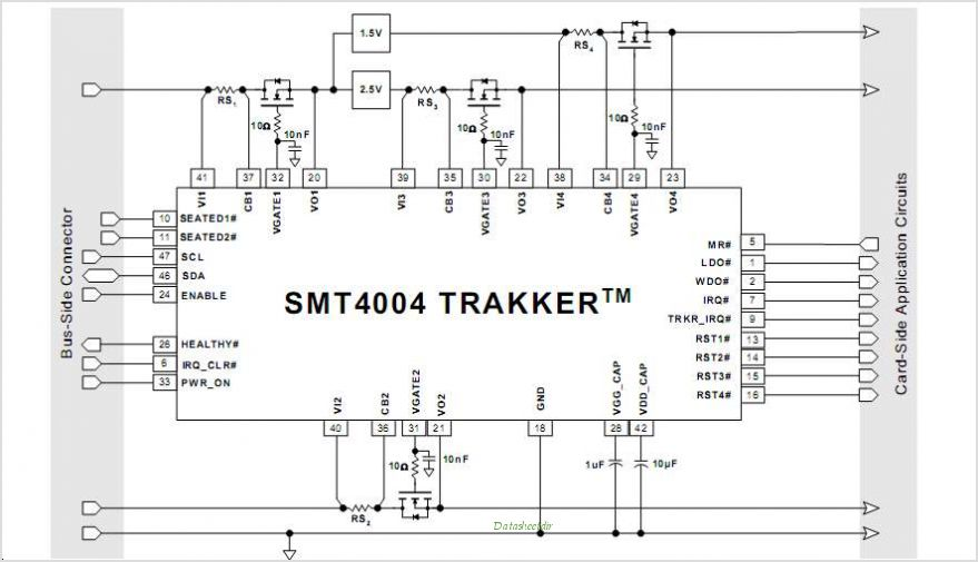 SMT4004 circuits