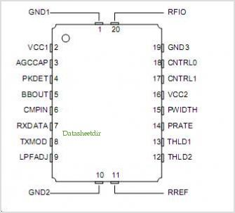 TR3001 pinout,Pin out