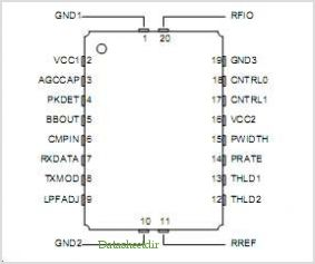 TR3003 pinout,Pin out