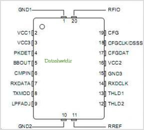 TR8001 pinout,Pin out