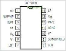 LTC1059 pinout,Pin out