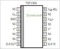 LTC1063 pinout,Pin out