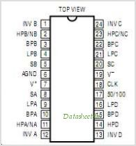 LTC1064 pinout,Pin out