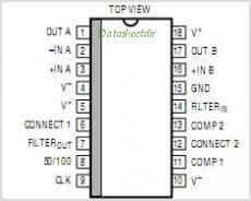 LTC1066-1 pinout,Pin out