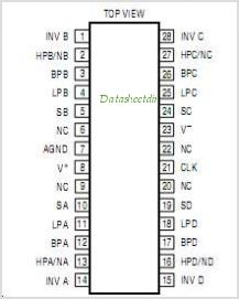 LTC1068-25 pinout,Pin out
