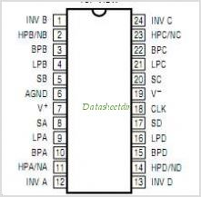 LTC1264 pinout,Pin out