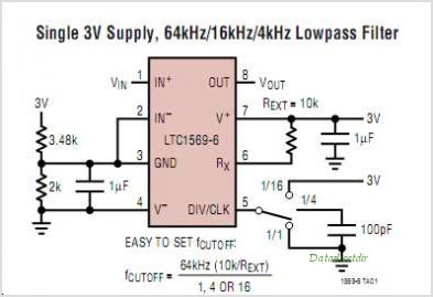 LTC1569IS8-7-TRPBF circuits