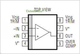 LT1012IN8 pinout,Pin out