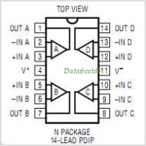 LT1127 pinout,Pin out