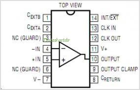 LTC1052 pinout,Pin out