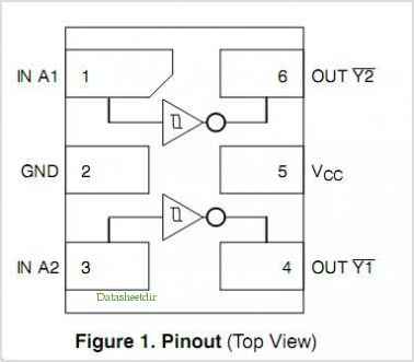 NLX2G14 pinout,Pin out