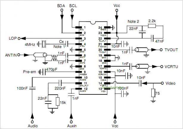 MC44BC373 circuits