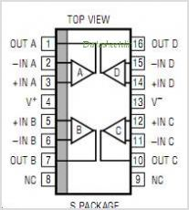 LT1114 pinout,Pin out