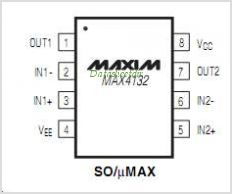 MAX4132 pinout,Pin out