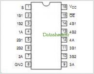 CBTD3257DB pinout,Pin out