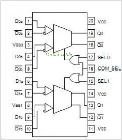 SY100EL56V pinout,Pin out
