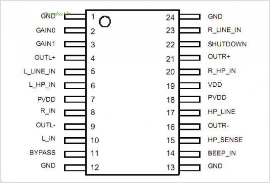 AA4006 pinout,Pin out