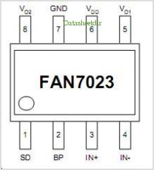 FAN7023MUX pinout,Pin out
