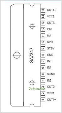 SA7347 pinout,Pin out