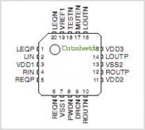 SM6802A pinout,Pin out