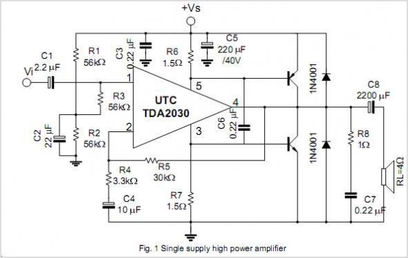 Download Bridge Tda 7294 Audio Amplifier Picture.