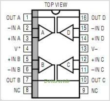LT1079 pinout,Pin out