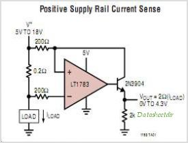 LT1783 circuits