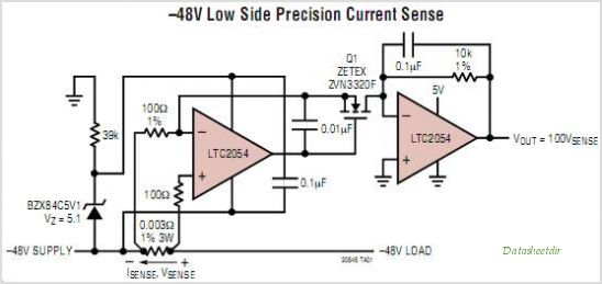 LTC2055HVIMS8-PBF circuits